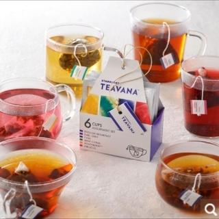 スターバックス ティバーナ ティーアソート6個(茶)