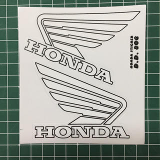 ウイング  ステッカー HONDA(ステッカー)