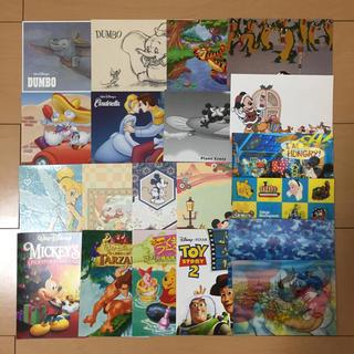 ディズニー(Disney)の【ディズニー♡ポストカード♡官製はがき♡20枚 まとめ売り】(切手/官製はがき)