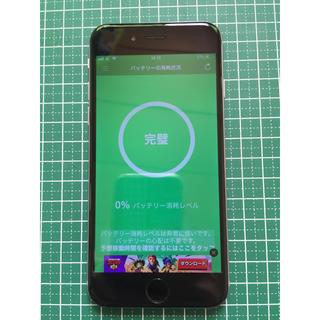 アイフォーン(iPhone)のIphone 6 64GB au スペースグレイ(スマートフォン本体)