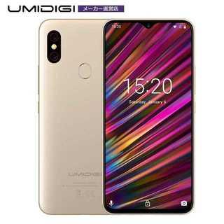 UMIDIGI F1 SIMフリースマートフォン(スマートフォン本体)
