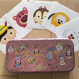ディズニー(Disney)の香港ディズニー アメニティ缶 (小物入れ)