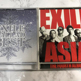EXILE アルバム 2枚セット(ポップス/ロック(邦楽))