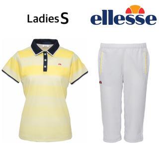 エレッセ(ellesse)の新品 エレッセ シャツ&カプリパンツ レディースS(ウェア)