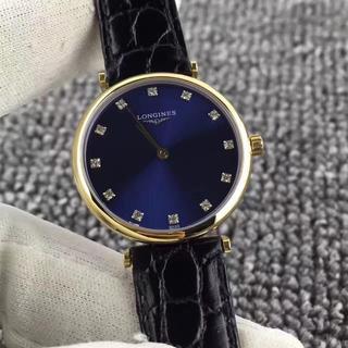 ロンジン(LONGINES)の腕時計 LONGINES  ロンジン メンズ クォーツ 人気 激売れ ほぼ新品(レザーベルト)