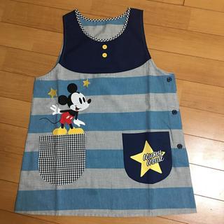 ディズニー(Disney)のディズニー ミッキーマウス 保育士エプロン(日用品/生活雑貨)