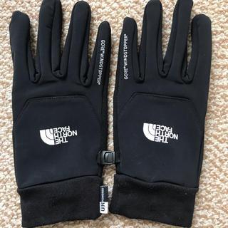 ザノースフェイス(THE NORTH FACE)のウィンドストッパー イーチップグローブ(ユニセックス)Sサイズ(手袋)