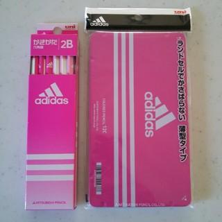 アディダス(adidas)の新品◆未開封「【送料込み】uni adidas色鉛筆880&かきかた鉛筆2点 」(鉛筆)