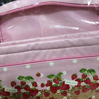 シャーリーテンプル(Shirley Temple)のシャーリーテンプル  ノベルティ イチゴ ストロベリー 保冷 バッグ(ノベルティグッズ)