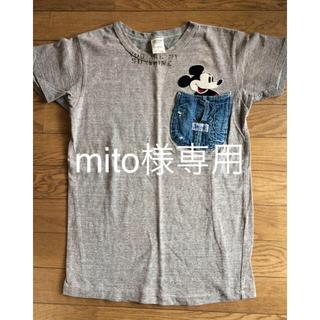 デニムダンガリー(DENIM DUNGAREE)のデニム&ダンガリーミッキーTシャツ160(Tシャツ/カットソー)