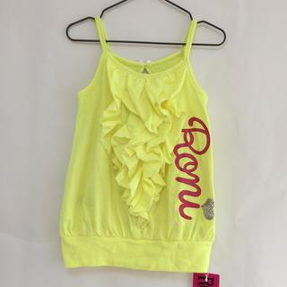ロニィ(RONI)の《新品》 子供服 RONI ロニィ ロニ キャミソール イエロー 黄色 女の子(Tシャツ/カットソー)