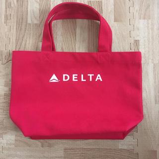 デルタ(DELTA)のデルタ航空 トートバッグ(ノベルティグッズ)