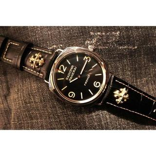 パネライ(PANERAI)の腕時計 PANERAI パネライ メンズ 自動巻き 新品同様 人気(レザーベルト)
