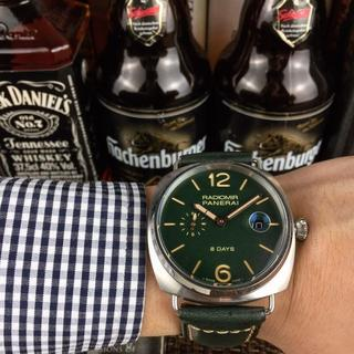パネライ(PANERAI)の腕時計 PANERAI パネライ メンズ 自動巻き 人気 ほぼ新品(レザーベルト)