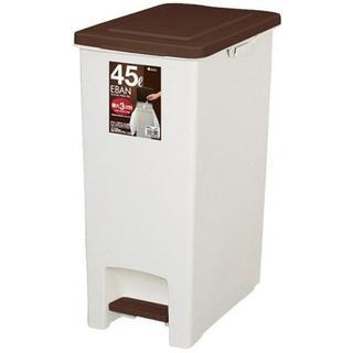 アスベル ペダルペール45SD 「エバン」 45L ブラウン(ごみ箱)
