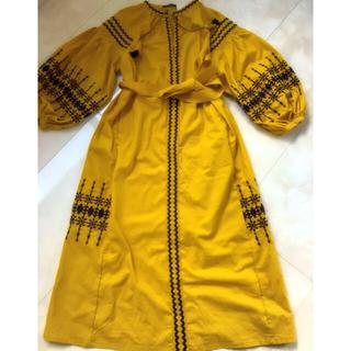 ローズバッド(ROSE BUD)のローズバッド 刺繍ワンピース(ロングワンピース/マキシワンピース)