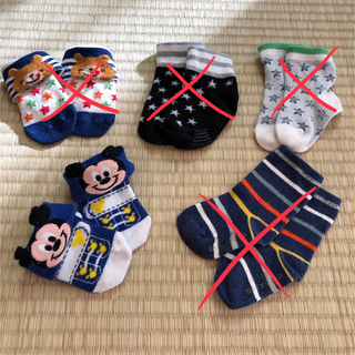 ディズニー(Disney)のベビー靴下+レッグウォーマー(靴下/タイツ)
