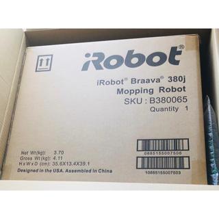 アイロボット(iRobot)のアイロボット / iRobot 床拭きロボット ブラーバ380j B380065(掃除機)