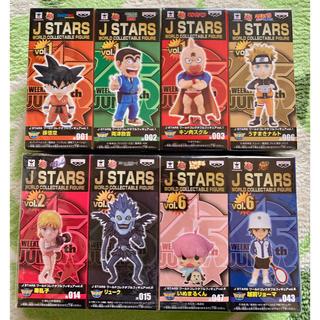 バンプレスト(BANPRESTO)のJ  STARSワールドコレクタブルフィギュア8体セット♡(キャラクターグッズ)
