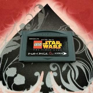 ゲームボーイアドバンス(ゲームボーイアドバンス)のGBA  レゴ スターウォーズ(携帯用ゲームソフト)