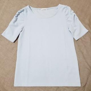 ジーユー(GU)の半袖トップス(カットソー(半袖/袖なし))