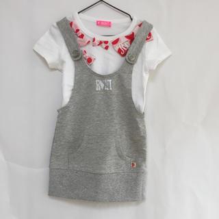 ロニィ(RONI)の《新品》 子供服 RONI ロニィ ロニ  2枚セット Tシャツ  サロペット(Tシャツ/カットソー)