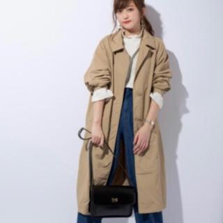 ジーユー(GU)のGU ステンカラーコート Sサイズ(ロングコート)