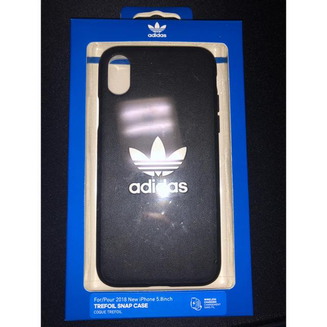 adidas(アディダス)のiPhoneX ケース スマホ/家電/カメラのスマホアクセサリー(iPhoneケース)の商品写真