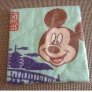 ディズニー(Disney)のディズニーオンツアー 京都 ミッキー ウオッシュタオル 未開封(タオル/バス用品)