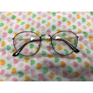 ローズバッド(ROSE BUD)の新品 ローズバッド dieu  サングラス 度なし 伊達眼鏡 丸メガネ (サングラス/メガネ)