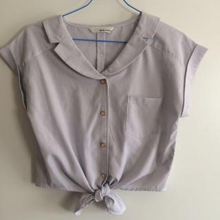ミスティウーマン(mysty woman)の半袖ブラウス♡(Tシャツ(半袖/袖なし))