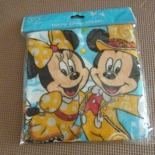 ディズニー(Disney)のディズニーリゾート 30周年 ウオッシュタオル 未開封(タオル/バス用品)