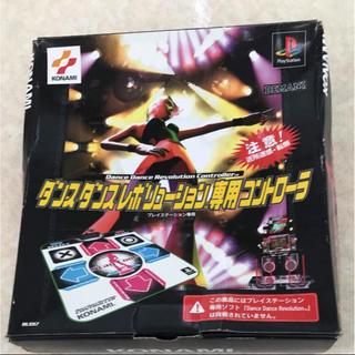 プレイステーション(PlayStation)のPS ダンスダンスレボリューション専用コントローラー+ソフト付き(家庭用ゲームソフト)