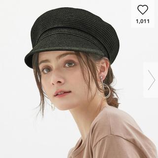 ジーユー(GU)のsale!!マリンキャップ/GU/ストロー(麦わら帽子/ストローハット)