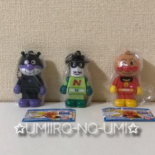 アンパンマン(アンパンマン)の3種セット ガチャ それいけ!アンパンマン ブロックラボスイング 6&7(キャラクターグッズ)