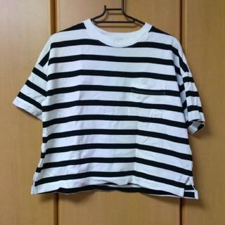 GU - 【GU】ボーダーTシャツ