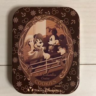 ディズニー(Disney)のディズニーリゾート☆お菓子缶(小物入れ)