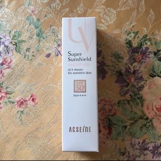 アクセーヌ(ACSEINE)の新品 アクセーヌ スーパーサンシールドブライトヴェール(化粧下地)