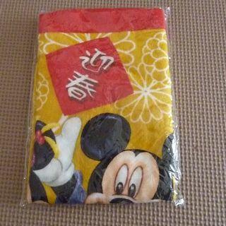 ディズニー(Disney)のディズニーストアー 福箱 2008年 ミニタオル 未開封(タオル/バス用品)