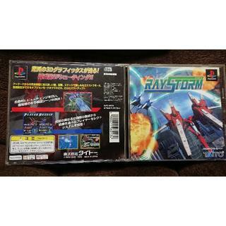 プレイステーション(PlayStation)のPS レイストーム 中古 タイトー RAY STORM(家庭用ゲームソフト)
