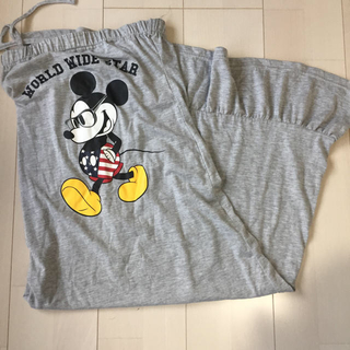 ディズニー(Disney)のミッキー マキシワンピ(ロングワンピース/マキシワンピース)