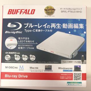 バッファロー(Buffalo)のバッファロー DVD Blu-ray ドライブ(PC周辺機器)