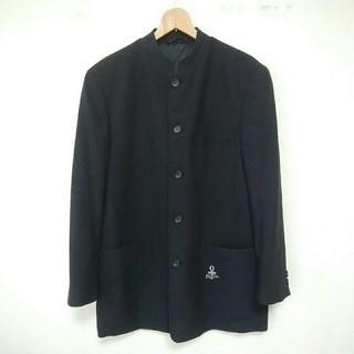 パジェロ(PAGELO)のスタンドカラー ジャケット コート ブラック Pagelo(ノーカラージャケット)