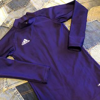 アディダス(adidas)のアディダス インナー 紫(ウェア)
