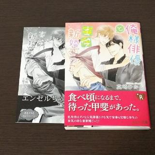 カドカワショテン(角川書店)の【BL小説】『俺様俳優と蜜愛新婚ごっこ』(BL)