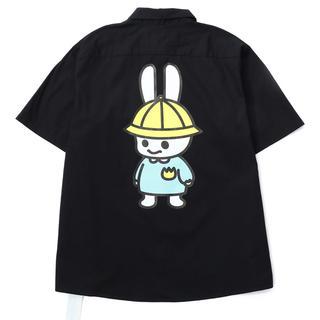 キューン(CUNE)のCUNE オンライン6周年 最終 完売 ワークシャツ(シャツ/ブラウス(半袖/袖なし))
