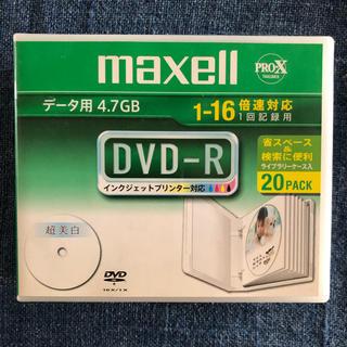 マクセル(maxell)のmaxell DVD-R データ用4.7GB 1-16倍速対応 18パック(DVDレコーダー)