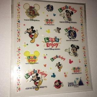 ディズニー(Disney)のディズニーシー 非売品 こするタイプのシール 5周年記念(ノベルティグッズ)
