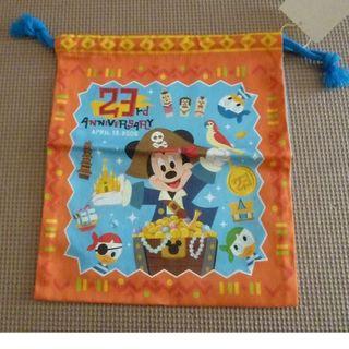 ディズニー(Disney)のディズニーランド 2006年 23周年 巾着 未使用 (その他)