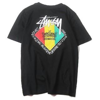 ステューシー(STUSSY)のSTUSSY Tシャツ 半袖t-shirt 綿 Mサイズ(Tシャツ(半袖/袖なし))
